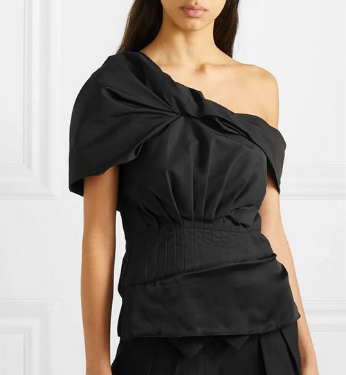 asymmetric off the shoulder tops trend fountainof30