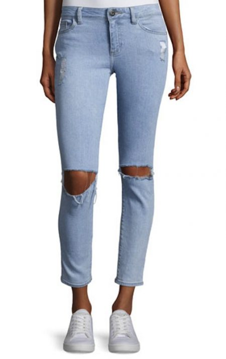 Distressed-Cropped-Jeans