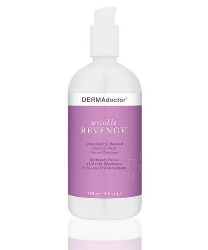 Best facial cleanser DermAdoctor Wrinkle Revenge fountainof30