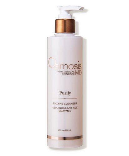 Best Facial Cleansers For Aging sensitive skin Osmosis Pur fountainof30