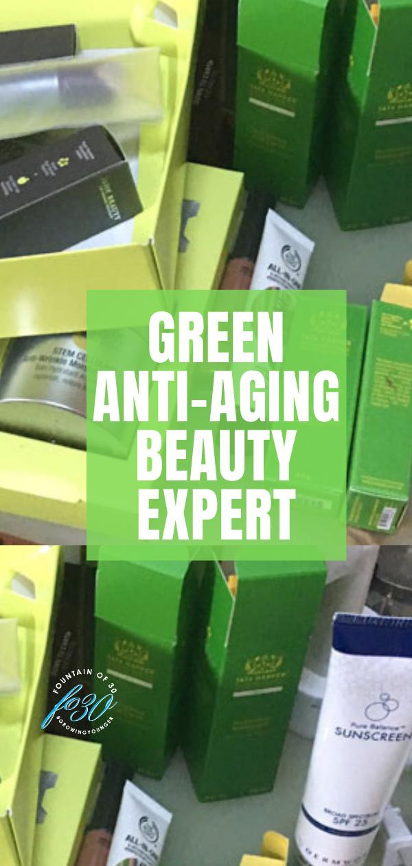 green beauty expert fountainof30
