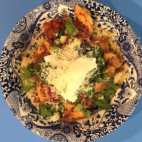 Pangea Modern Mediterranean Diet Chicaken Fajita