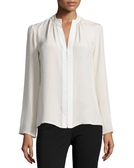 Olivia Palermo celebrity look for less blouse