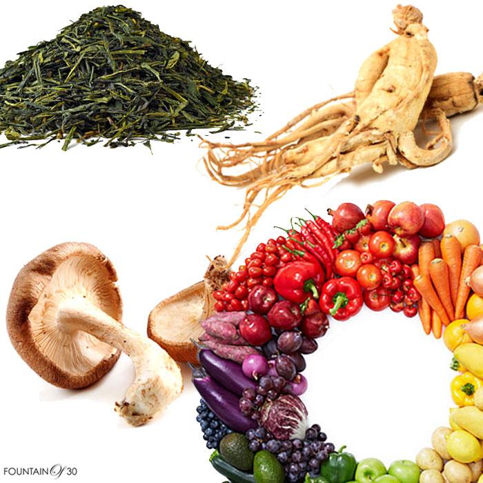 nutrition supplements herbs vegetables