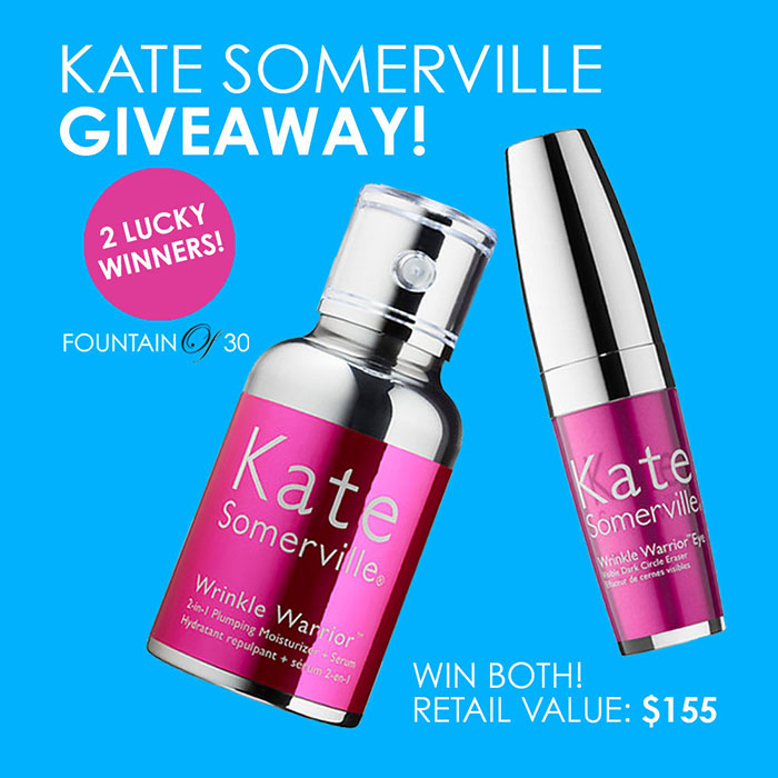 latest anti-aging skincare products from Kate Somerville