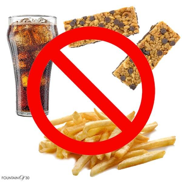 Anti-inflammatory Diet do not eat