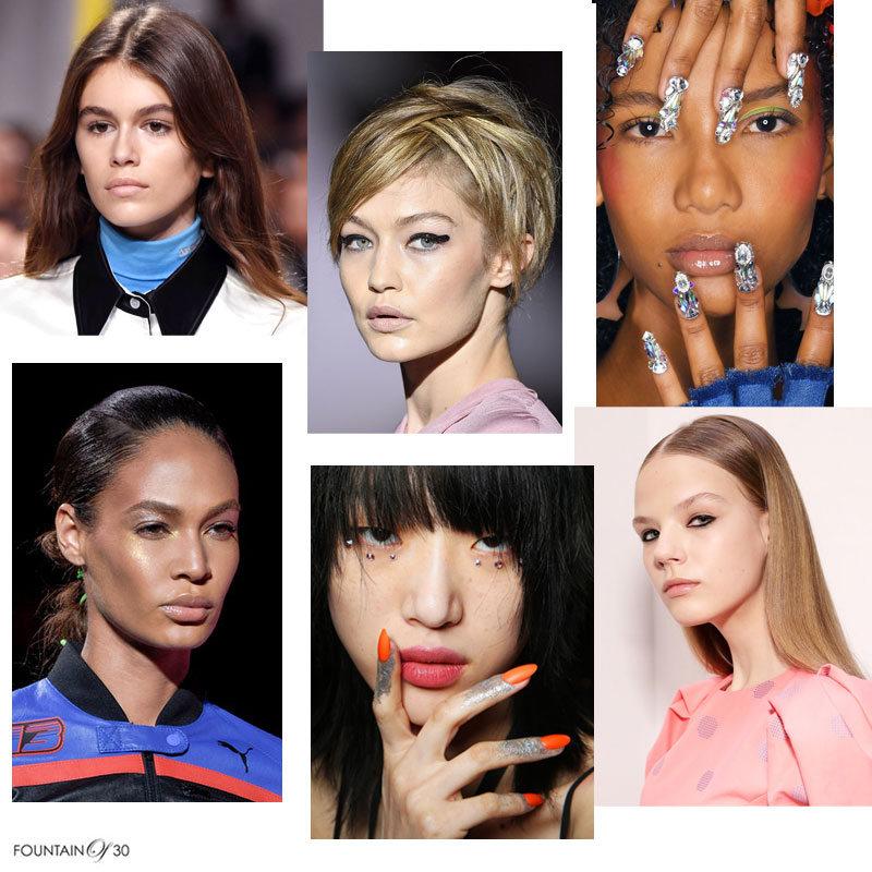 nyfw spring 18 beauty trends