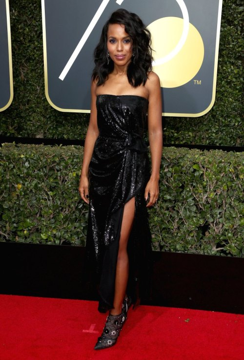 golden globes 2018 fashion best and worst dressed celebrities kerry washington