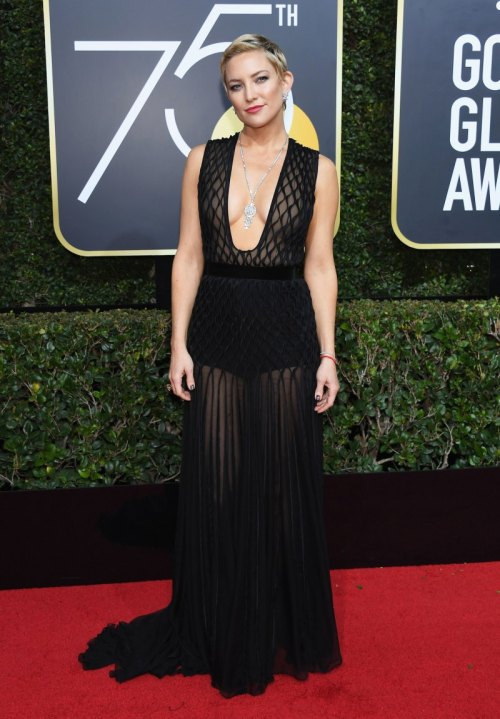 golden globes 2018 fashion best and worst dressed celebrities Kate Hudson