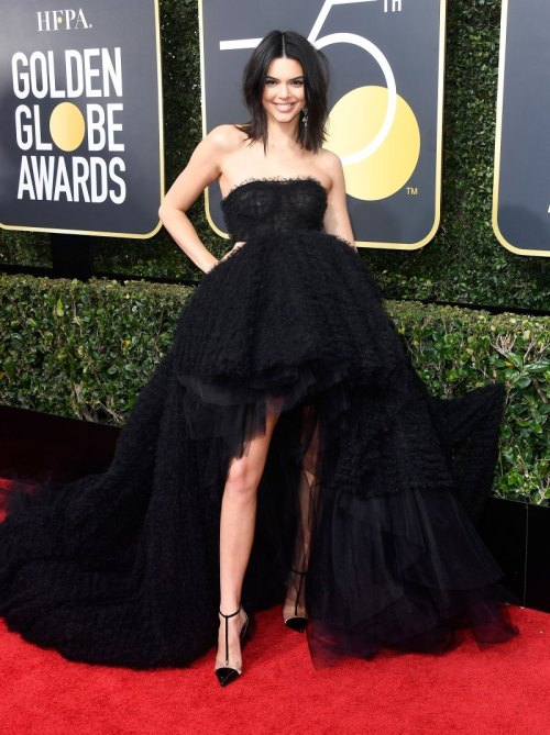 golden globes 2018 fashion best and worst dressed celebrities Kendall Jenner