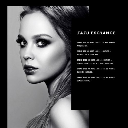 Zazu Exchange menu