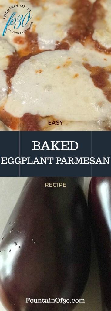 Easy Baked Eggplant Parmesean Recipe