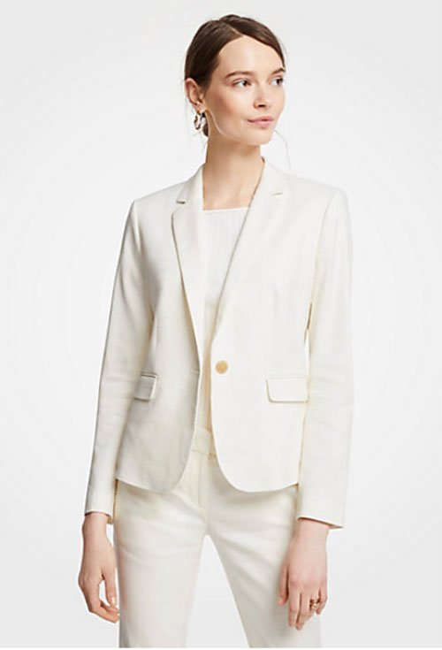 Priyanka Chopra look for less white Blazer