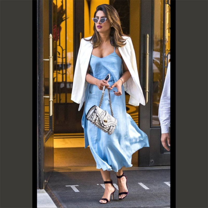 Priyanka Chopra look for less