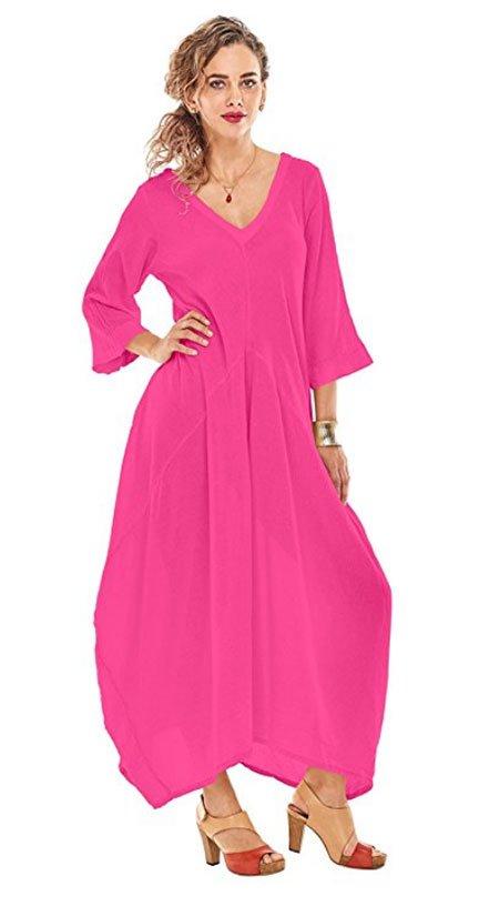 Victoria Beckham Pink Dress Look for Less