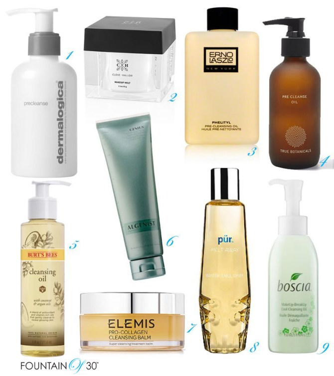 best pre-cleansers for your face fountainof30