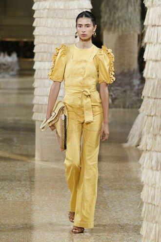 marigold yellow Ulla Johnson pants