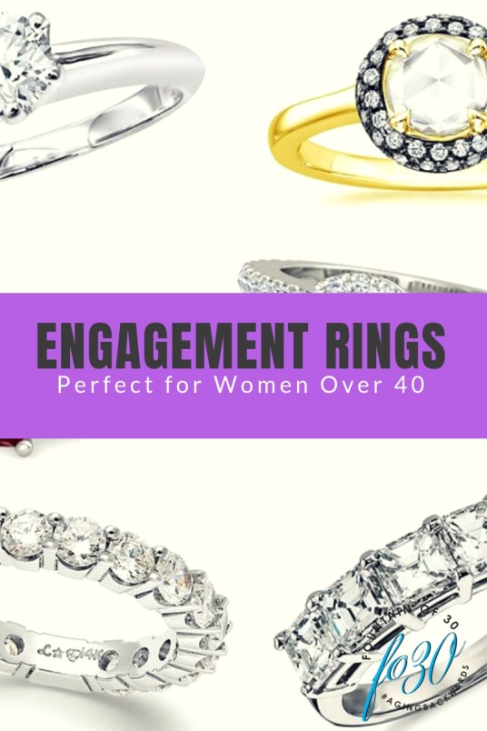 Engagement Rings Perfect For Women Over 40