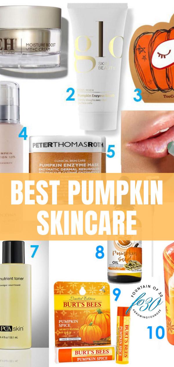 best pumpkin skincare fountainof30