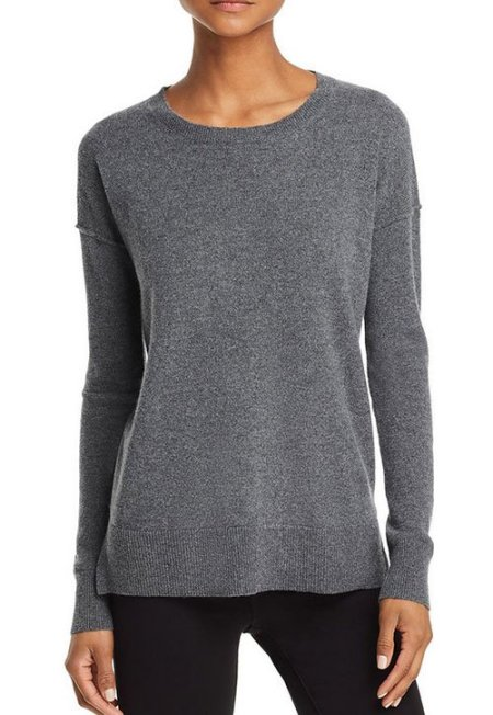 Change Your Hair Color medium grey sweter on model