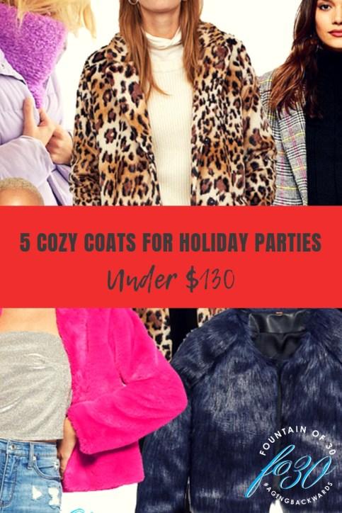5 Cozy Coats Fro Holiday Parties Under $130