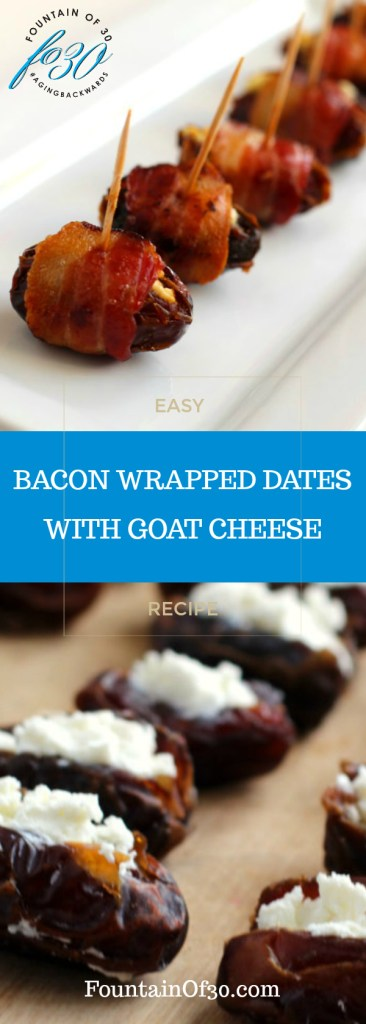 Bacon Wrapped Dates With Goat Cheese Recipe