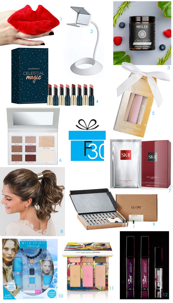 The Best Ever Beauty Holiday Gift Guide for 2018 12 itmes