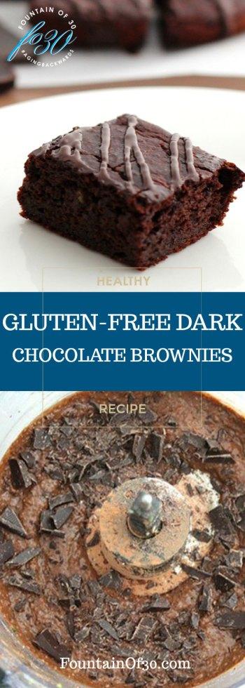 Gluten-Free Dark Chocolate Zucchini Brownies