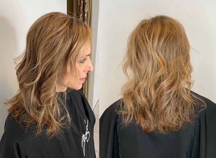 my hair style Zazu Salon & Day Spa in Hinsdale