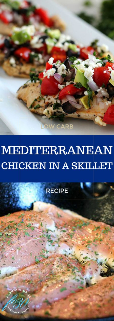 low carb chicken recipes mediterranean skillet