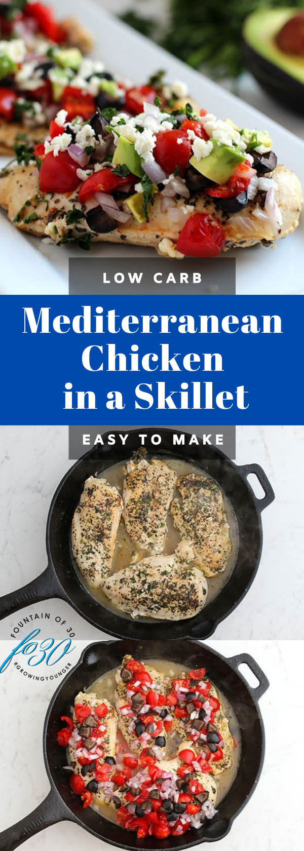 easy skillet chicken recipe fountainof30