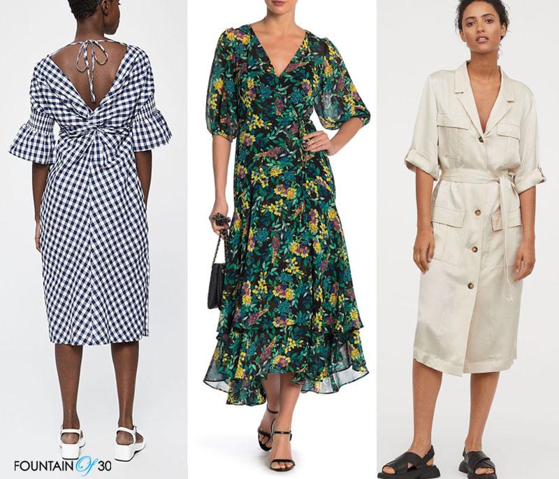 dresses for women over 40 3 dresses