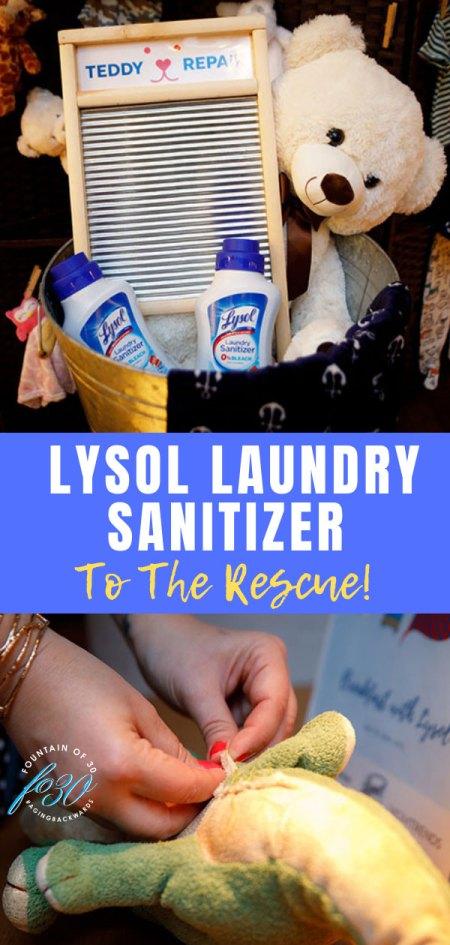 Lyasol Laundry Sanitizer Teddy Repair Fountainof30