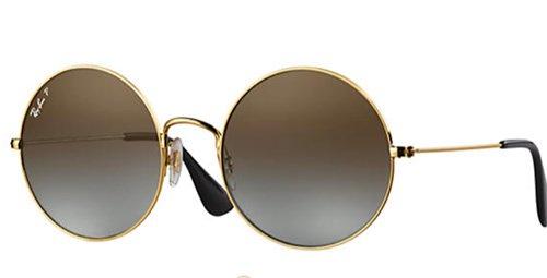 Sandra Bullock Spring Look Round Wire frame sunglasses