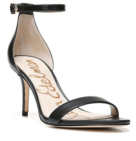 Sandra Bullock Look for less black Ankle Strap Sandal