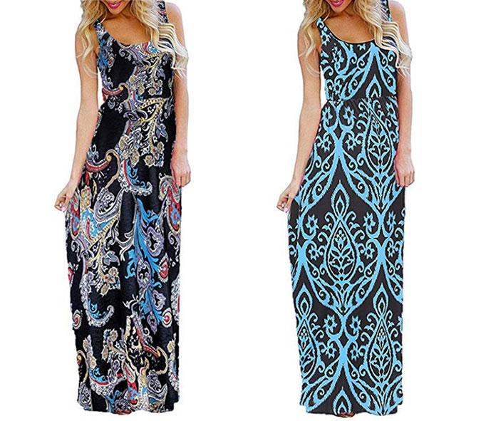 What to Wear To A Beach Wedding maxi dress fountainof30