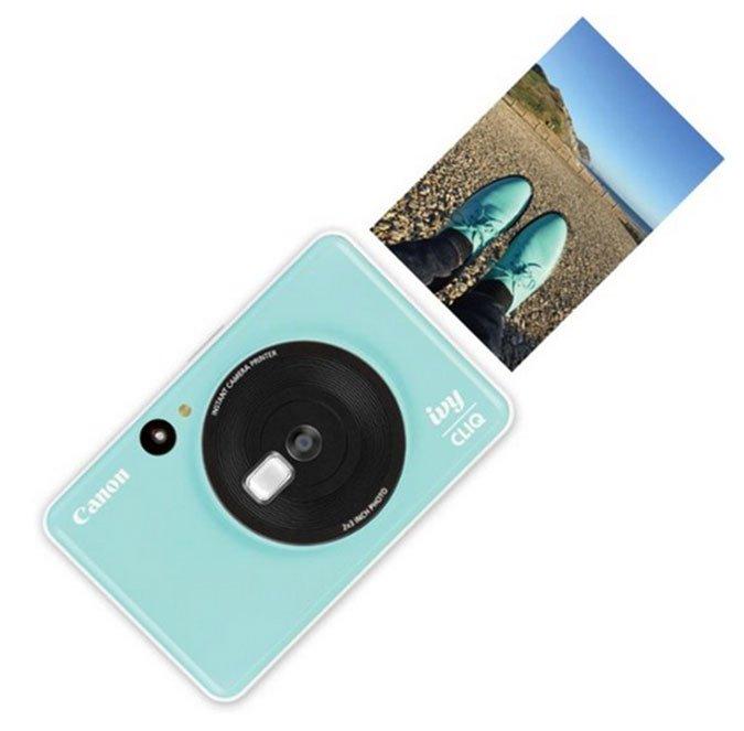 Canon IVY CLIQ instant print cameras fountainof30