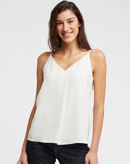 Maximize Your Favorite Body Features neckline Drape Camisole