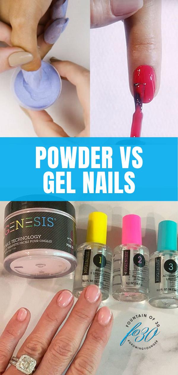 powder vs gel nails manicure fountainof30