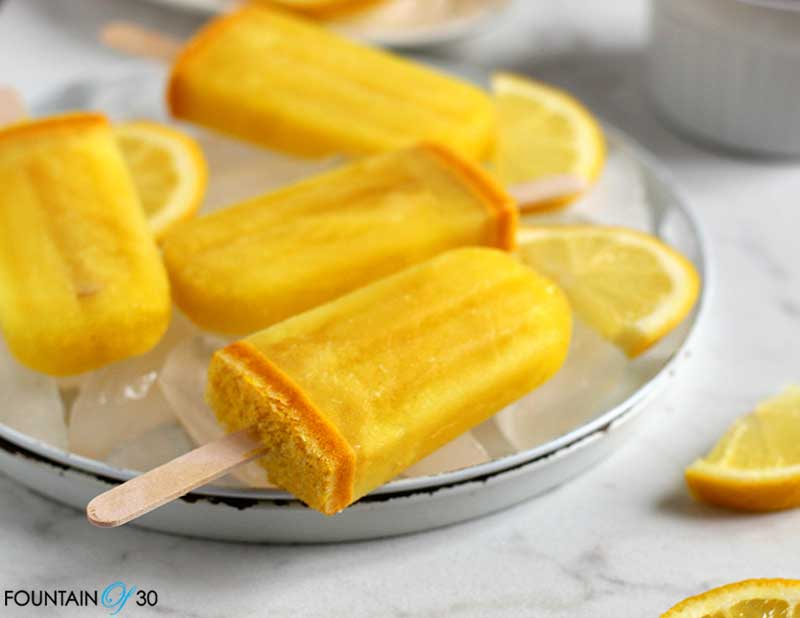 Anti-Inflammatory Lemon Turmeric Popsicles Anti-Inflammatory Lemon Turmeric Popsicles