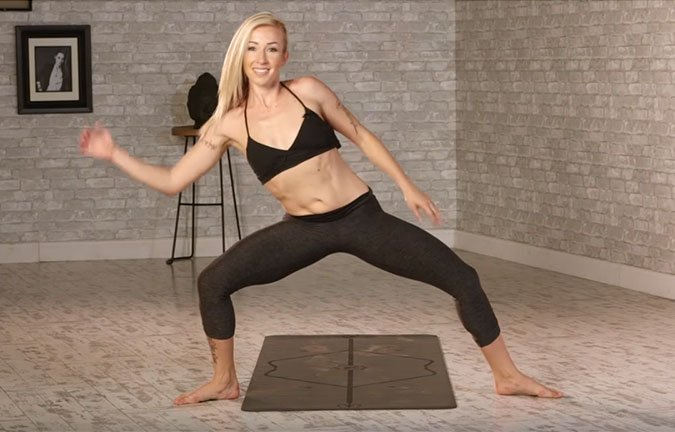 fitness beyond the gym Buti Yoga with Bizzie Gold dance move