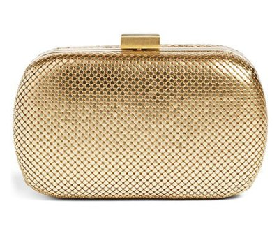 Nordstrom Mesh Oval Minaudière