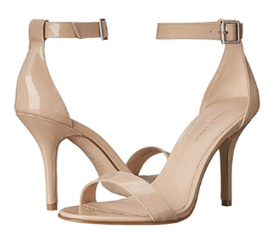 nude ankle strap sndals fountain of 30