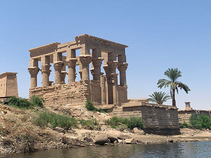 Philae Temple To Isis fountainof30