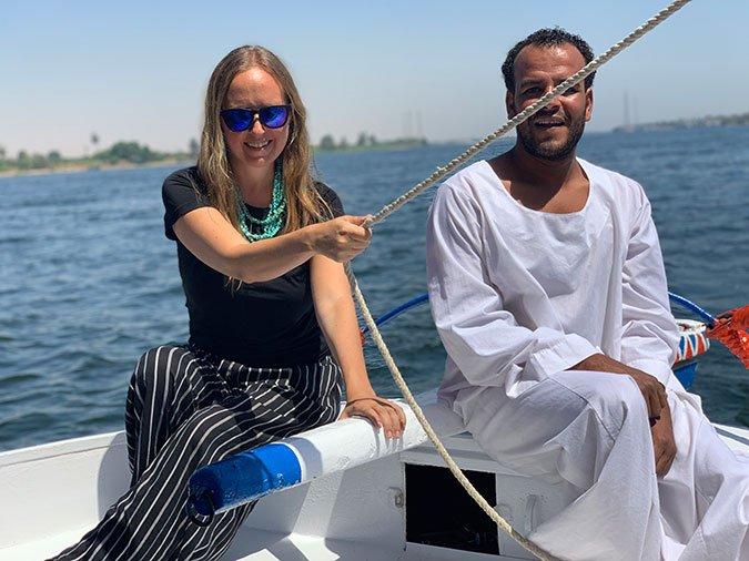 egypt travel fountainof30 Nile Felucca Jacqueline Zenn