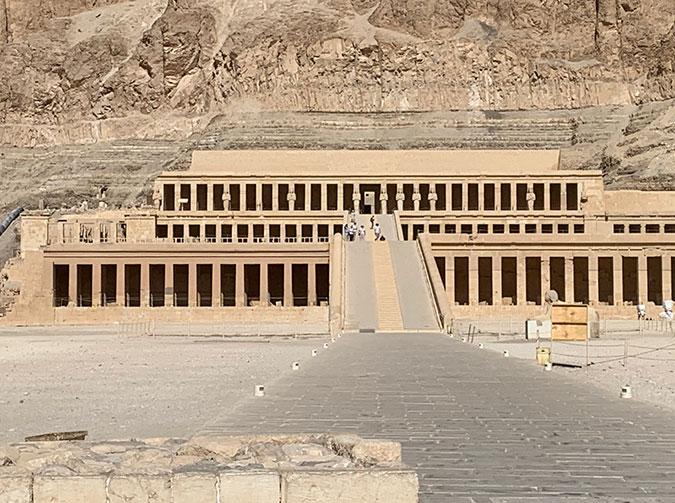 The Temple Of Queen Hatshepsut egypt fountainof30