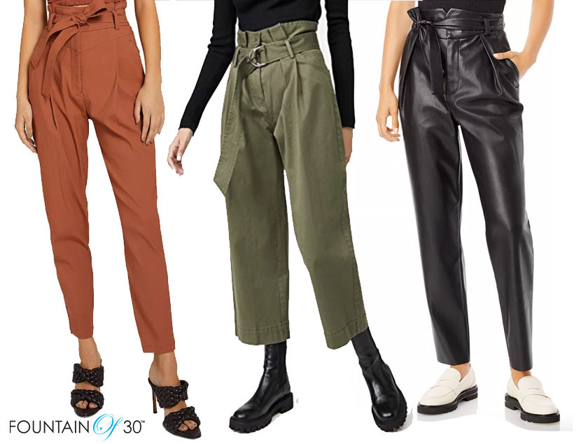 how to wear paper bag pants fountainof30