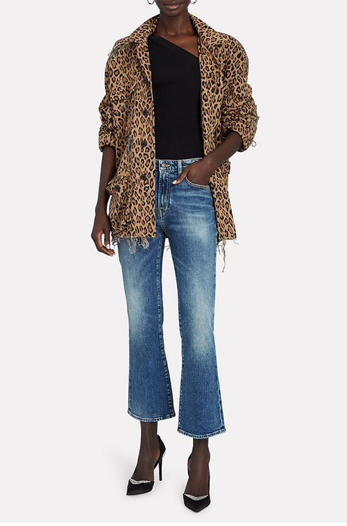 cropped or cropped flare jeans for women over 40 fountainof30