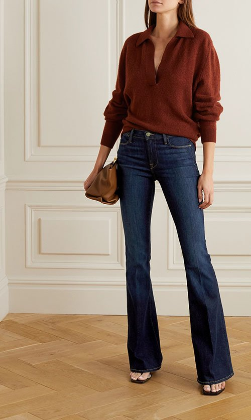 flare jeans women over 40 fountainof30