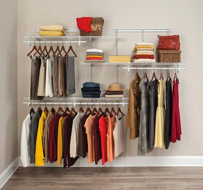 Closet Organization Ideas ClosetMaid closet organizer fountainof30